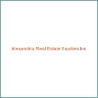 Alexandria Real Estate Equities Inc